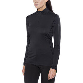 Arc'teryx Phase SL Zip Neck LS Women Black